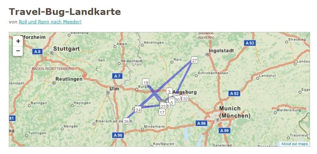 Landkarte_Geocoin